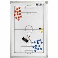 Доска тактическая Tactics board alu - football 60х90