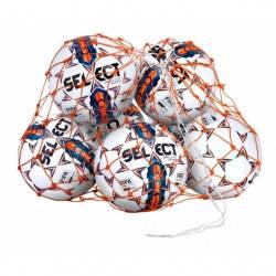 Сетка для мячей SELECT BALL NET (002) оранжевый, 14/16 мячей, фото 2