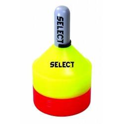 Набор маркеров SELECT MARKER SET 24 шт (231) желт/красн, 7 см, фото 2
