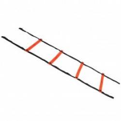 Координационная лестница SELECT Agillity ladder - indoor (216), оранж/черн, 6 м., фото 2