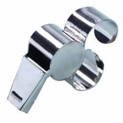 Свисток арбитра с металлической рукояткой для пальца SELECT (018), металический, фото 2