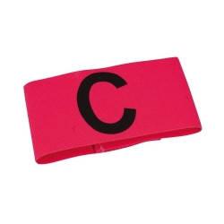 Капитанская повязка SELECT CAPTAIN'S BAND (012), розовый mini, эластичная, фото 2