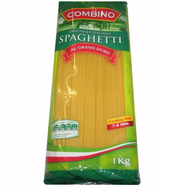 Спагетти твердых сортов Combino «Spaghetti», 1 кг.