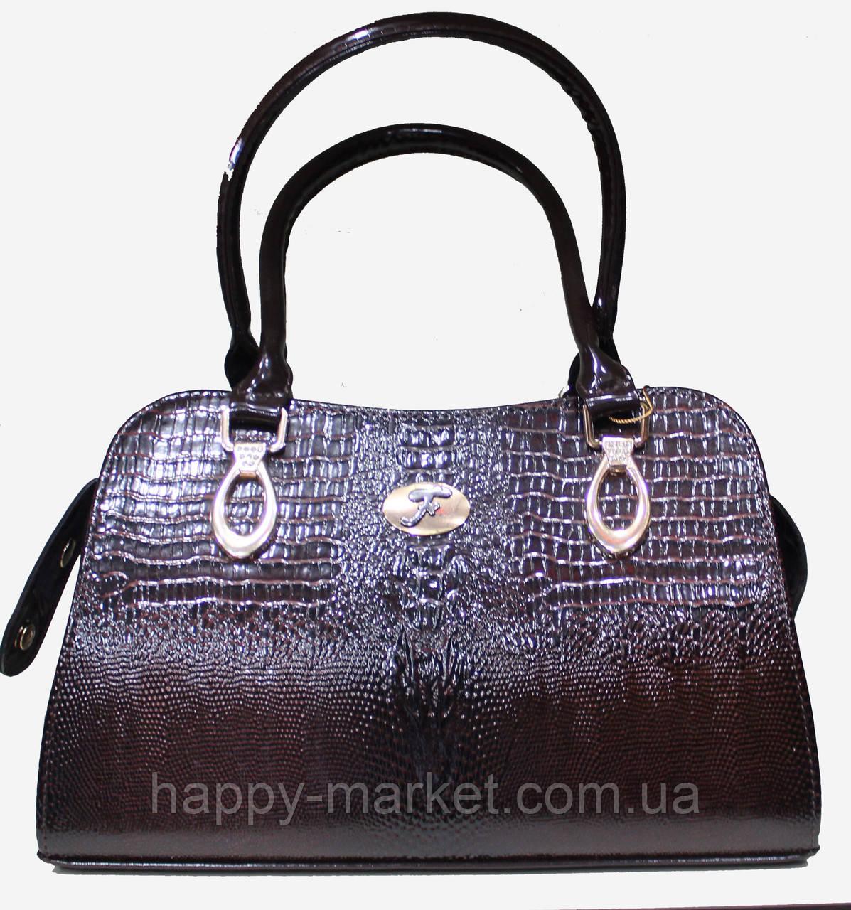 Сумка женская классическая каркасная LUCK SHERRYS 17-2115-10 -  Интернет-магазин Хеппи e16641e44f7