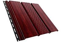Панель ASKO красное дерево перфорованная/неперфорированная, фото 1