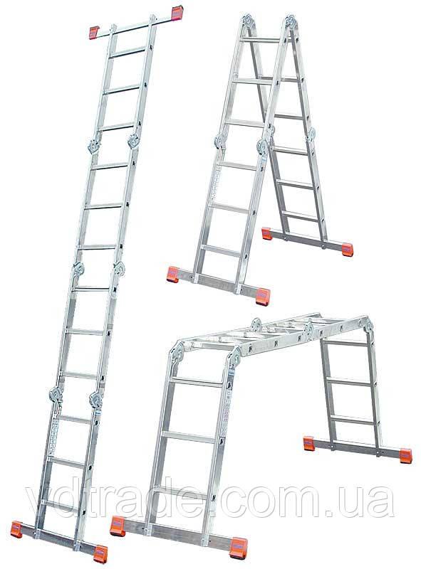Лестница-трансформер Krause Monto MultiMatic 4x5, Шарнирная