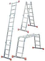 Лестница-трансформер Krause Monto MultiMatic 4x5, Шарнирная, фото 1
