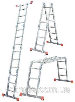 Лестница-трансформер Krause Monto MultiMatic 4x4, Шарнирная