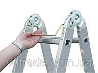 Лестница-трансформер Krause Monto MultiMatic 4x5, Шарнирная, фото 4