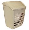 Корзина для белья 50 л бежевый мрамор, TM Idea 2609