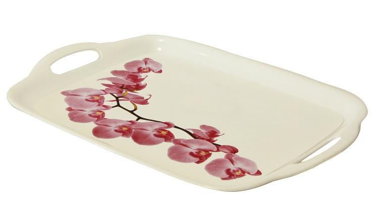"""Поднос с рисунком """"Орхидея"""" 26*36 см, TM Idea 1112"""