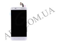 Дисплей (LCD) Lenovo C2 (K10a40) с сенсором белый