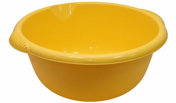 Таз для стирки 6,5 л (желтый), TM Idea 2505