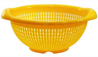 Дуршлаг для раковины 29 см (желтый) , TM Idea 1131