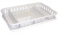 Сушилка для посуды 32*49 см (мрамор), TM Idea 1169