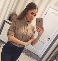 Молодежная модная рубашка 880055