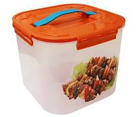 """Контейнер для хранения и транспортировки мяса """"Шашлык"""" 7 литров, TM Idea 2823"""