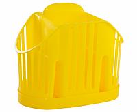 Сушилка вертикальная для столовых приборов 3 секции (голубая) , TM Idea 1160