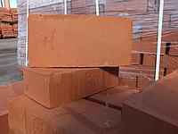 Кирпич красный полнотелый рядовой М125,Кирпич керамический