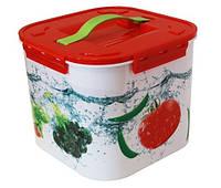 """Контейнер для хранения """"Овощи"""" 7 литров, TM Idea 2822"""