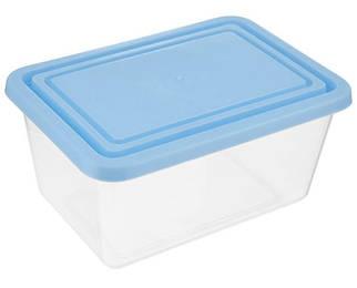Контейнер для хранения прямоугольный 0,4 л (голубой), TM Idea 1450