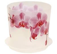 Цветочный горшок Орхидея O12,5 см (розов.), TM Idea 3105