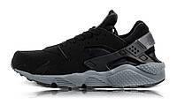 Nike Huarache Grey And Black W 36