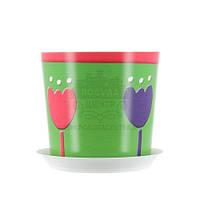 Цветочный горшок Тюльпан O12,5 см, TM Idea 3105