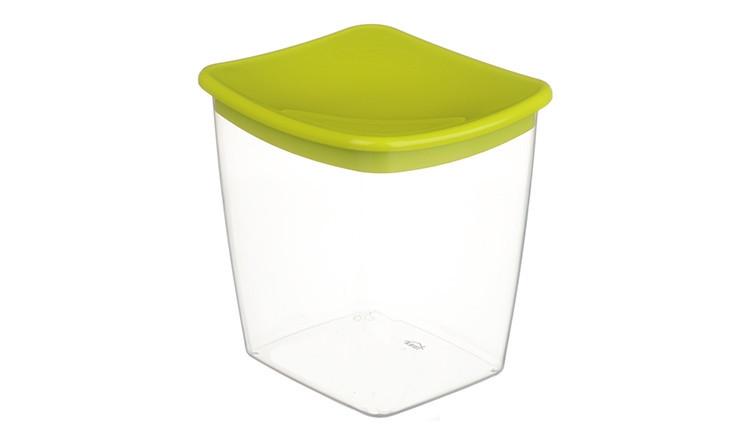 Банка для сыпучих продуктов 1 л (салатовая), TM Idea 1223