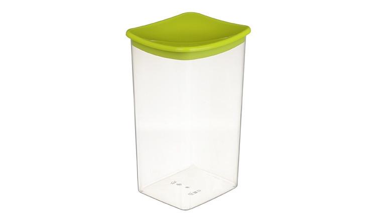 Банка для сыпучих продуктов 1,9 л (салатовая), TM Idea 1224
