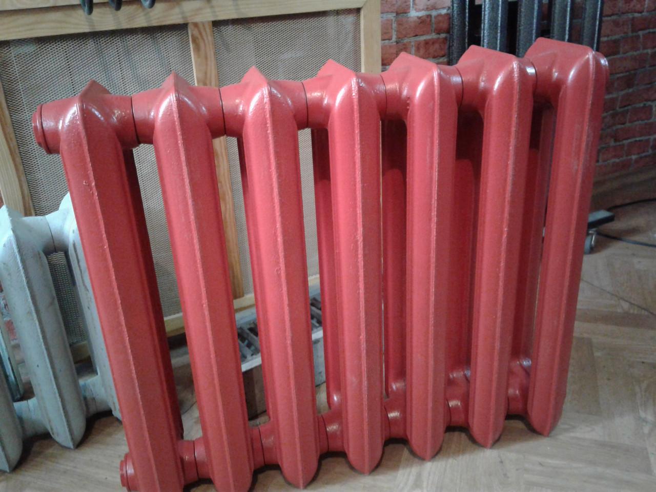 Чугунный радиатор МС - 140 (500) ( покрытие RAL 3002)