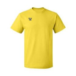 Футболка желтая х\б, мужская, фото 2