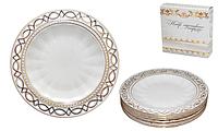 Набор тарелок 6 шт Кружево SNT 30872