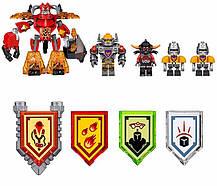 Конструктор Lele серия Nexo Soldiers 79308 Боевая башня Акселя (Аналог Lego Nexo Knights 70322), фото 2