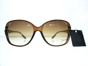 Нежные овальные женские очки от солнца, фото 3