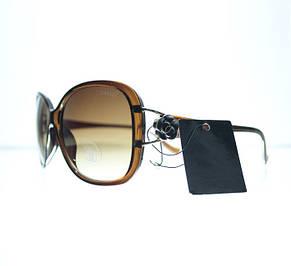 Нежные овальные женские очки от солнца, фото 2
