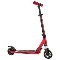 Детский 2-х колесный самокат складной для детей OXELO  (красный)