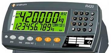 Автомобильные подкладные весы ЗЕВС-АВТО Rinstrum R420 700х430х30