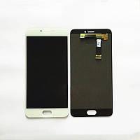 Дисплей (Lcd) Meizu MX6 white +touchscreen