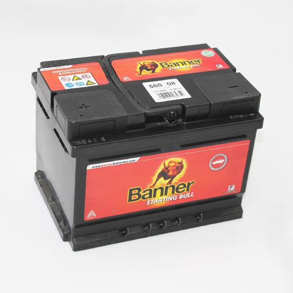 Аккумулятор Banner GMBH 6ст-60 R+ (540А) 241*175*175