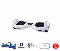 Гироскутер Classic 6.5′ digital белый  (Led, Bluetooth, сумка, приложение к смвртфону)