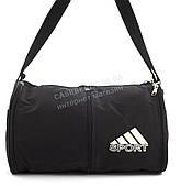 Стильная прочная спортивная вместительная сумка с возможностью небольшого увеличения art. 465 черная