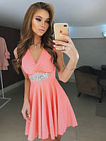 Платье вечернее ткань Масло, украшение, цвет только такой, супер качество ля № надин