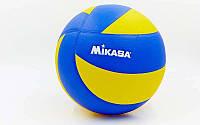 Мяч волейбол. Клееный MIK MVA-200 (PU, №5, 3 слоя)