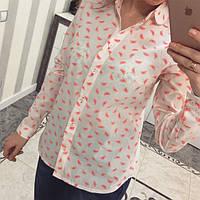 Молодежная модная рубашка 880071