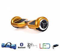 Гироскутер Classic 6.5′ желтый  (Led, Bluetooth, пульт, сумка)