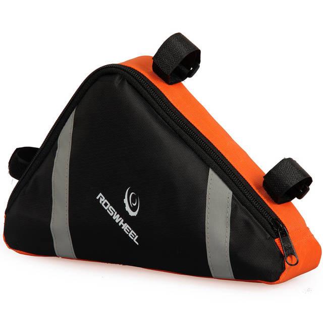 Сумка Roswheel, подрамная, черно-оранжевая