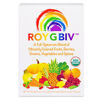 ROY G BIV, концентрированный органический суперфуд, премиум-смесь, насыщенная нутриентами, без ГМО