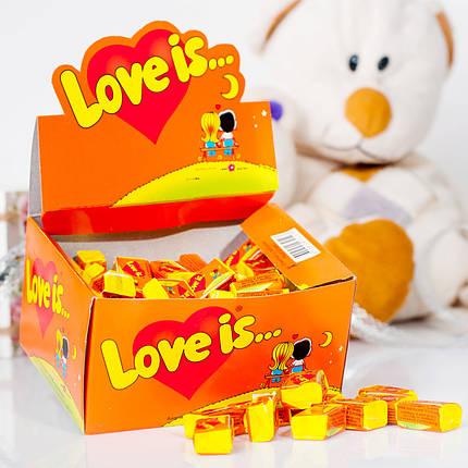 Жвачки LOVE IS... апельсин ананас, фото 2