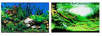 Ferplast BLU 9040 Фон для аквариума двусторонний - растения